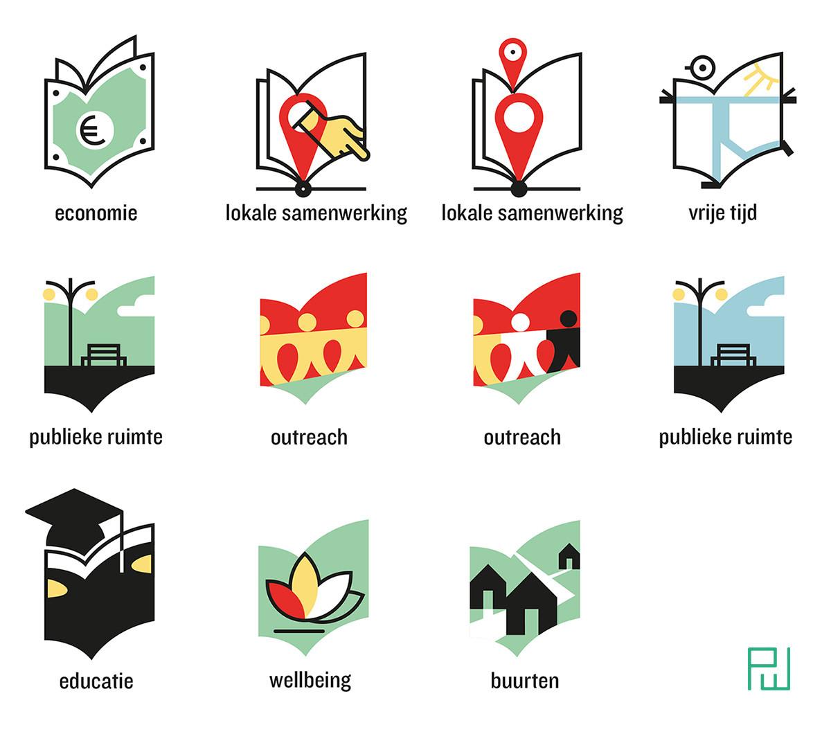iconen reeks voor Iedereen Leest, 2019