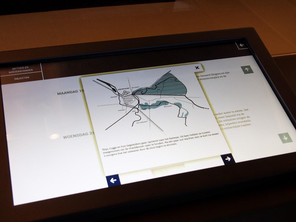 inundatie interactieve kaart